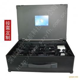 8.4寸工业便携机机箱定制工控外壳加固笔记本军工电脑视频采集