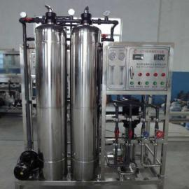 大型反渗透设备 纯净水设备 500L反渗透水处理设备