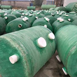 批发生产玻璃钢化粪池 价格优惠 南京新正盛环保