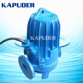 WQ污水提升泵15KW 地下室排污系统 凯普德