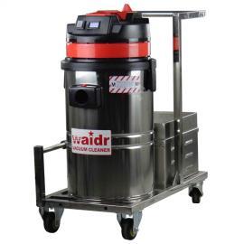48V新款电瓶无线工业吸尘器用于环氧地坪地毯吸水吸尘吸颗粒