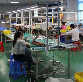 东莞常平供应防静电木板工作台板线 条木板工作台平板拉木板拉