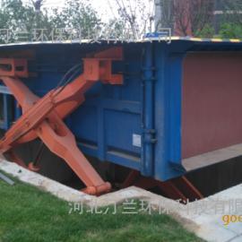 地埋式水平压缩垃圾站