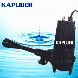潜水射流曝气机QSB4kw 自耦式射流曝气器 凯普德