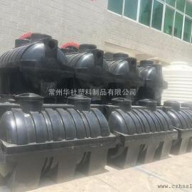 莆田2吨防撞击一体化三格化粪池农村改造化粪池成品化粪池