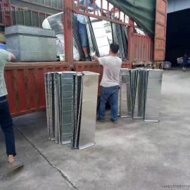 惠州废气处理之揭阳市揭西县某塑料制品厂废气处理工程施工现场