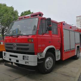 国五标准装水6吨消防车|国五6吨东风153水罐泡沫两用消防车价格