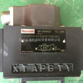 力士乐电磁阀4WS2EM10A伺服阀特销