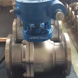 Q347H-25P 不锈钢蜗轮固定式球阀