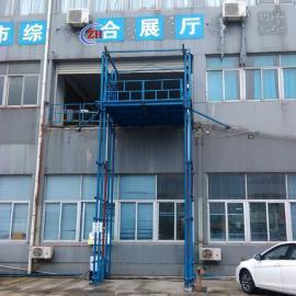 济南志华SDG2-6导轨链条式升降机厂房简易货梯定制提升机