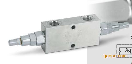 现货 双向平衡阀 VBCD 1/2 DE/FL 意大利OM平衡阀V0434