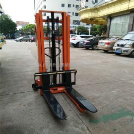 东莞厂家直销 双门架手动液压堆高车