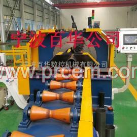 CTA数控管道高速切断坡口生产线-百华数控切割坡口生产线