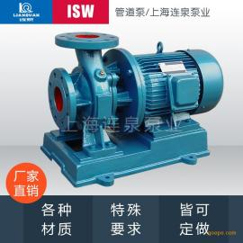 工业和城市给水泵/高层建筑增压送水泵/消防增压泵/ ISW80-100