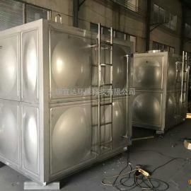厂家定制不锈钢水箱 太阳能热水工程保温水箱