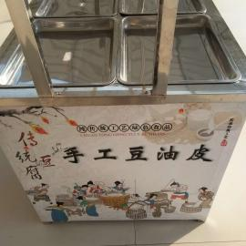 全自动豆腐机 不锈钢花生豆腐机 图片 商用腐竹油皮机