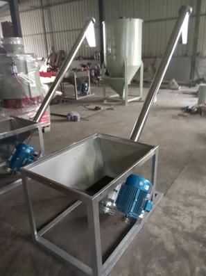 螺杆上料机不锈钢颗粒粉末自动送料机螺旋提升机塑料输送机