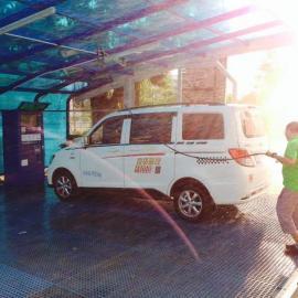 小车便利汽车服务自助洗车机