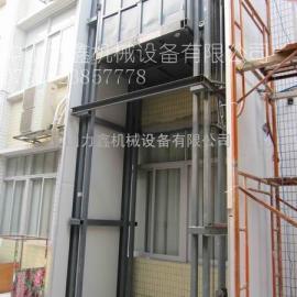 高兴导轨式液压起落货梯/北京货梯/高兴式液压起落机