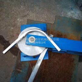 德锐手动弯管机 方管圆管手动型弯管机 铁管不锈钢铜管弯管机