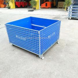 鑫升力厂家可定制大小的仓库笼 折叠式仓储笼