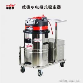 上海电瓶式工业吸尘器|大型工厂车间吸渣铁屑工业吸尘器