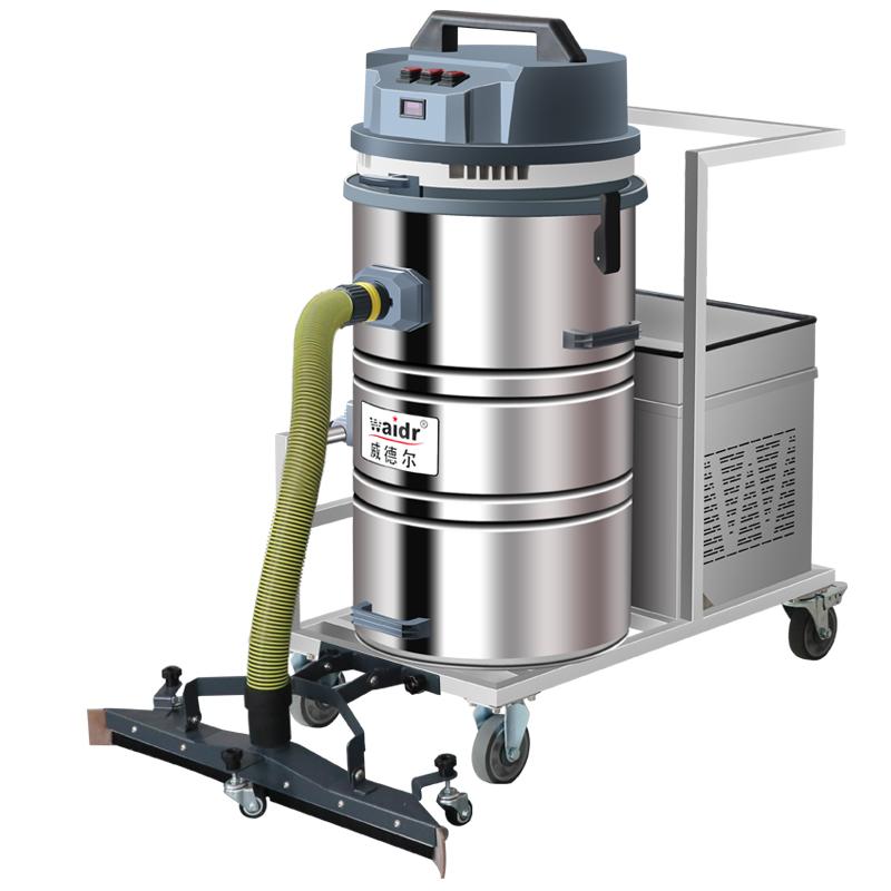WD-80P电瓶式工业吸尘器可清理大面积场地多种场所使用