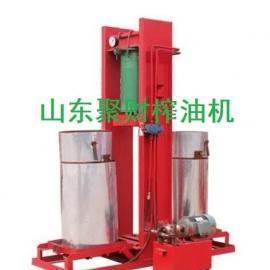 供应天津优质小型菜籽榨油机型号报价,聚财牌榨油机一年保修