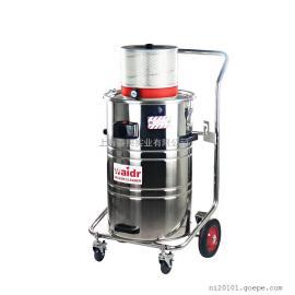 威德尔气动工业吸尘器 吸粉尘铁屑焊渣用吸尘吸水机