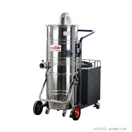 吸油污铁渣用吸尘器 大型钢铸车间吸尘机移动式干湿两用吸尘器