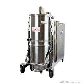 双桶不锈钢工业吸尘器HT110/75化工厂用耐高温工业吸尘器
