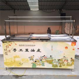 鲁嘉定做腐竹机 小型手工豆油皮机 质量保障