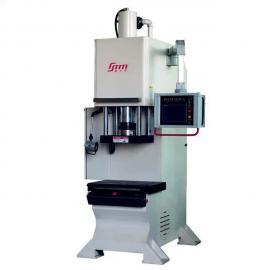 单柱数控油压机、精密数控油压机、数控单柱油压机