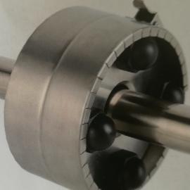 高温高压金属防喷溅保护装置