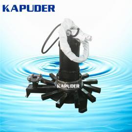 潜水离心曝气机QXB4kw 凯普德新式钢管焊接离心曝气器