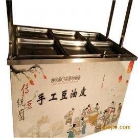 美食腐竹油 皮机豆制品加工设备小型豆油皮机厂家