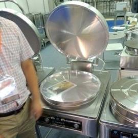 京明华YCD45A-K电饼铛 双温双控自动恒温烙饼机220V