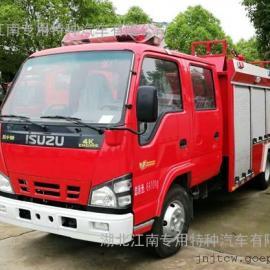 国五东风3.5吨消防洒水车