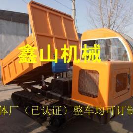 【履带运输车】_矿山拉渣土履带车_履带式矿用自卸车