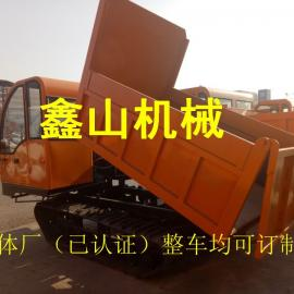 水利工程履带运输车 带推铲带车吊 履带自卸车