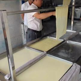 全不锈钢材质油皮机产量高费用低购机包技术学会为止腐竹油皮机