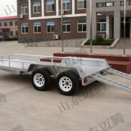MTGK厂区牵引平板,弯梁运输拖车,30T厂区拉货拖车