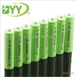 镍氢AAA电池600mah 1.2V遥控玩具7号充电电池 尖头平头Ni-MH 足