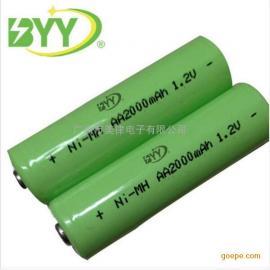 厂家直销镍氢AA电池足2000mah1.2V 鼠标5号充电电池 数码相机电池