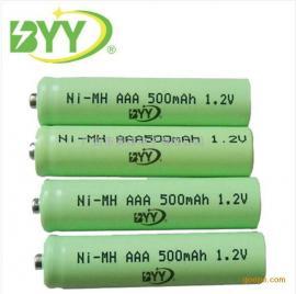 镍氢AAA电池500mah 1.2V 儿童遥控车7号充电池 手电筒遥控器电池