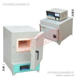 中西器材箱式电阻炉/马弗炉/工业电炉 1300℃ 一体式库号M405460