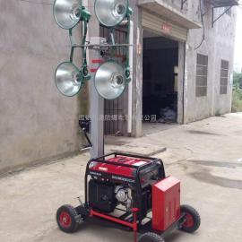 全方位自动升降工作灯,5000W电机金卤灯光源大型照明车