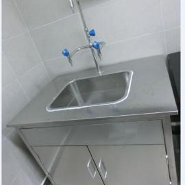 珠海不锈钢自动感应池厂家 珠海不锈钢洗手池定做