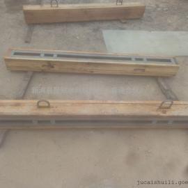 木制防水闸门 1050*150*200叠梁木质闸门