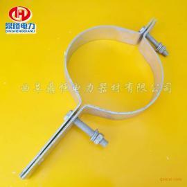 opgw杆用抱箍 光缆抱箍 不锈钢抱箍图片